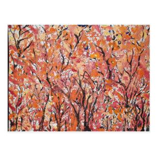 Parte 2 del follaje de otoño tarjetas postales