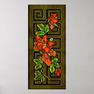 Parte 2 poster de las orquídeas de Chinatown de l
