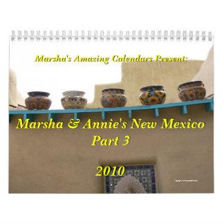 Parte 3 del nanómetro de Marsha y de Annie Calendario