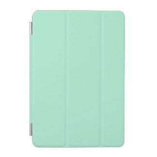 Parte alta ligera de la verde menta coloreada el cover de iPad mini