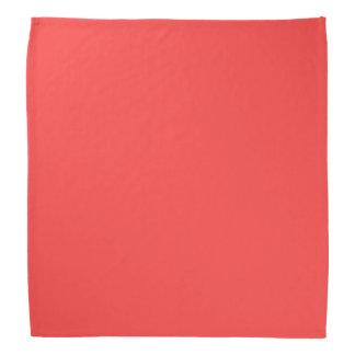 Parte alta roja coralina coloreada