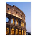 Parte de Colosseum en la oscuridad Tarjetas Postales