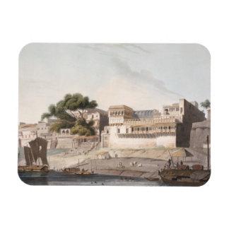 Parte de la ciudad de Patna, en el río el Ganges,  Imanes De Vinilo