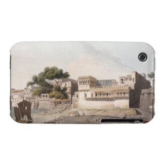 Parte de la ciudad de Patna, en el río el Ganges, iPhone 3 Carcasa
