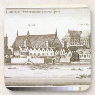 Parte de la ciudad de Westminster, 1647 (grabado) Posavasos De Bebidas
