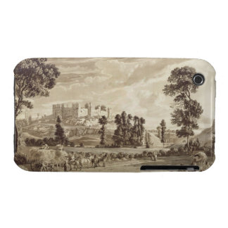 Parte de la ciudad y del castillo de Ludlow en iPhone 3 Cobertura