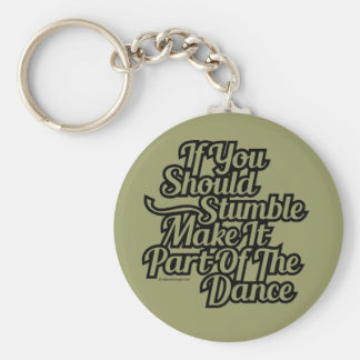 Parte de la danza llavero redondo tipo pin