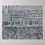 Parte de la procesión de la coronación de Edward V Posters