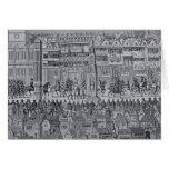 Parte de la procesión de la coronación de Edward V Tarjetas