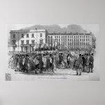 Parte de la procesión del Chartist Posters