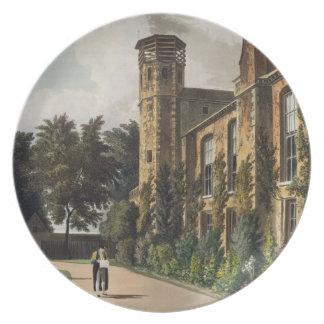Parte de la universidad de San Pedro (Peterhouse)  Platos Para Fiestas