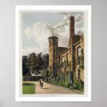Parte de la universidad de San Pedro (Peterhouse)  Póster