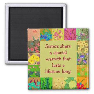 parte de las hermanas imán para frigorifico