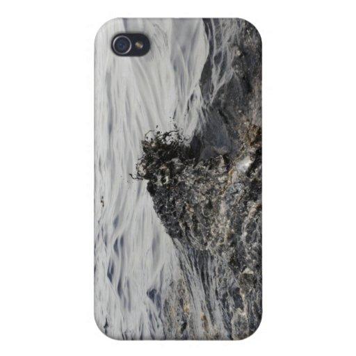 Parte de un pulido de aceite en el Golfo de México iPhone 4 Funda