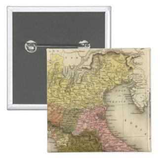 Parte del norte 2 de Italia Pins