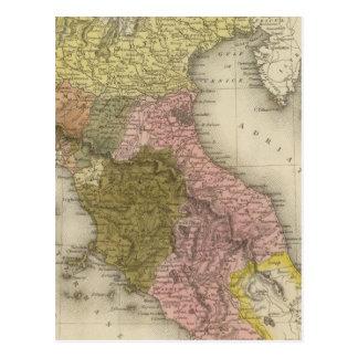 Parte del norte 2 de Italia Tarjetas Postales