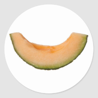 Parte del rockmelon pegatina redonda