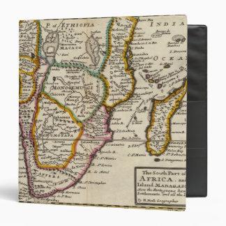 """Parte del sur de África y de Magadascar Carpeta 1 1/2"""""""