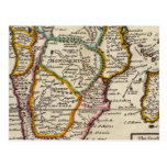 Parte del sur de África y de Magadascar Tarjetas Postales