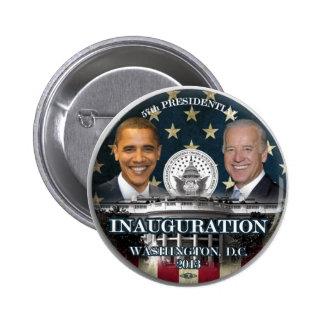 Parte inferior 2013 de la inauguración de Obama Pin