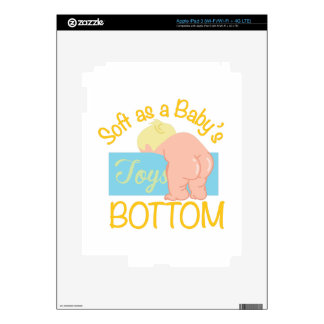 Parte inferior de Babys iPad 3 Pegatinas Skins