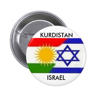 PARTE INFERIOR DE ISRAEL DEL KURDISTAN PINS