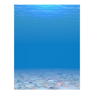 "Parte inferior del mar folleto 8.5"" x 11"""