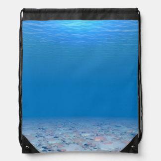 Parte inferior del mar mochila