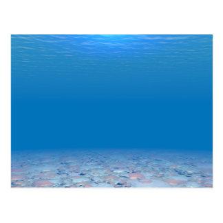 Parte inferior del mar postal