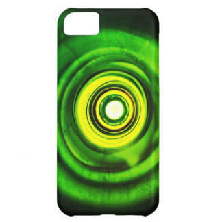 Parte inferior del verde de botella funda para iPhone 5C