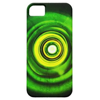 Parte inferior del verde de botella iPhone 5 funda