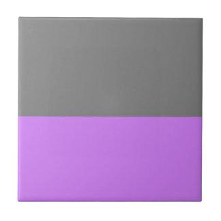 parte inferior púrpura superior negra 50 lightness azulejo cuadrado pequeño