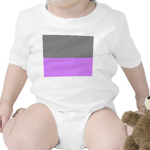 parte inferior púrpura superior negra 50 lightness trajes de bebé