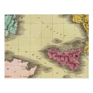 Parte meridional de Italia Postales