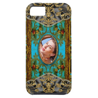 Parte movible de Marrie Chatignon su propia foto iPhone 5 Protectores