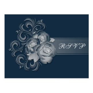 Parte movible ideal azul de RSVP Postales