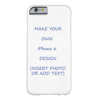 Parte movible popular de la plantilla del caso del funda barely there iPhone 6