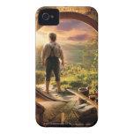 Parte posterior de Bilbo en collage del condado iPhone 4 Cárcasa