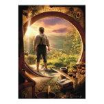 Parte posterior de Bilbo en collage del condado Comunicado Personal