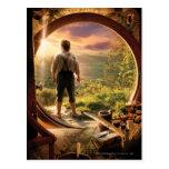 Parte posterior de Bilbo en collage del condado Postales
