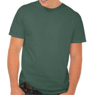 Parte posterior de la garra del círculo de la camisetas