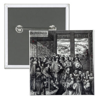 Parte posterior de Louis XIII del cerco de La Roch Pin Cuadrado