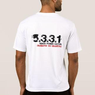 Parte posterior del deporte de la microfibra 5331 camisetas