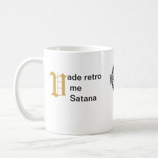 ¡parte posterior del paso de mí, Satan! - Taza - d