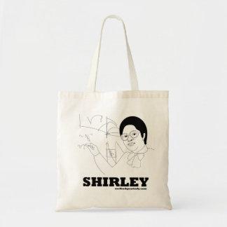 Parte posterior del tote de Shirley Ana Jackson Bolsa Tela Barata