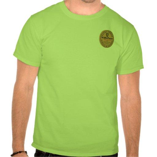 Parte posterior delantera valiente adicional de la camisetas