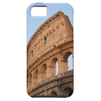 Parte superior en la puesta del sol iPhone 5 carcasas