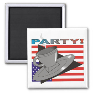 ParTea! (Tea Party II) Magnet