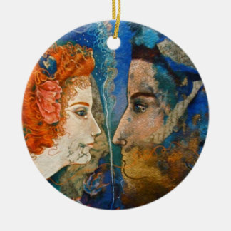 Parted Lovers ornament
