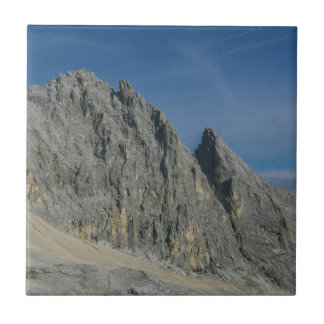Partenkirchen Dreitorspitze Mountain Massif Small Square Tile